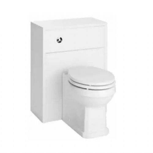 Kartell Astley Wc Unit - 500mm - White Ash